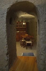 interior casa cueva
