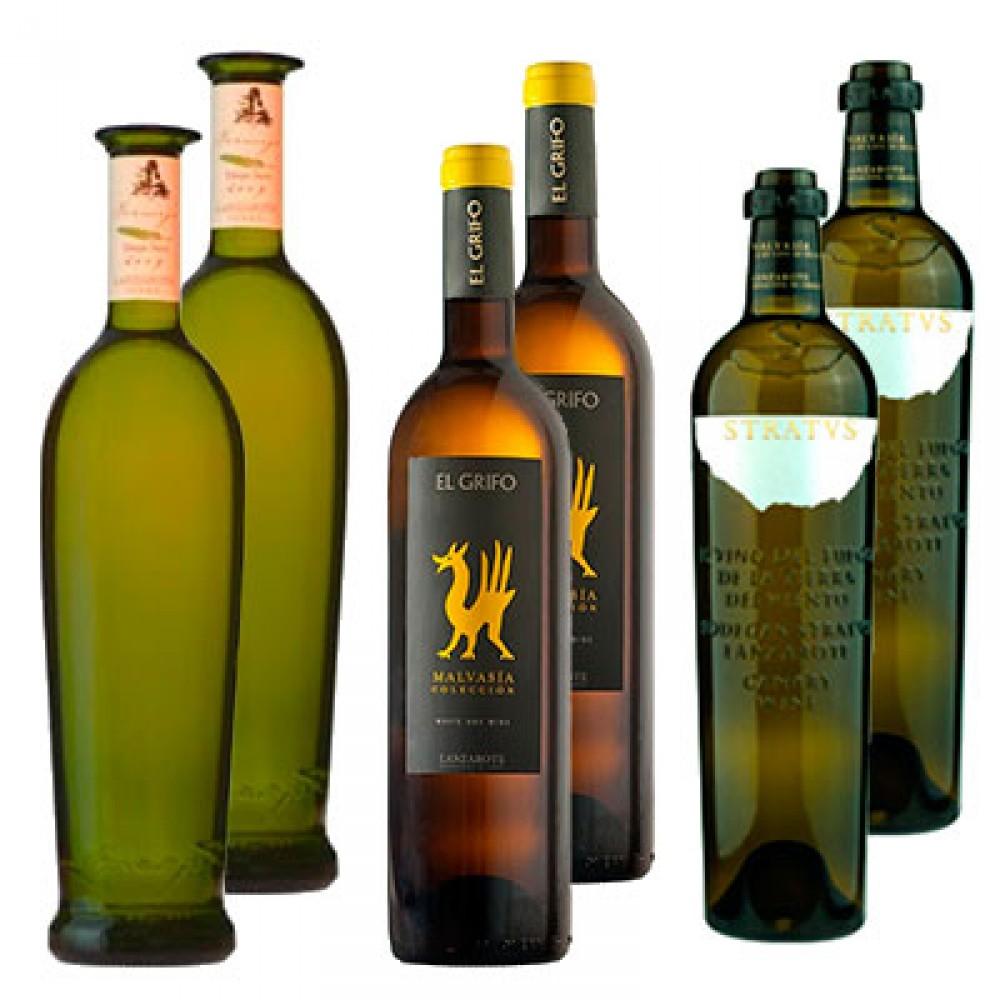 Vinos Malvasía Secos de Lanzarote